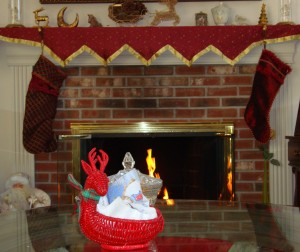 DSC00002 Christmas Fireplace