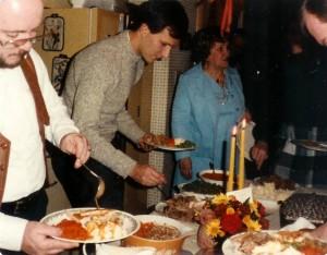 Family Dinner 1986