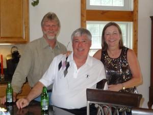 Bob Briggs, Ron Martin, Debbie Briggs
