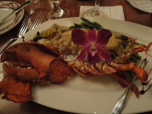 Sasso's Seafood Stuffed Lobster