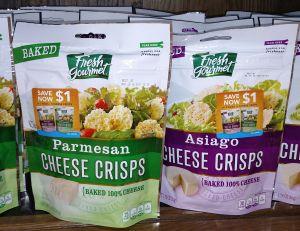 cheese crispsFresh Gourmet 9-29-15